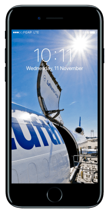 "Wallpaper Apple iPhone7 Lufthansa Cargo ""open door"""