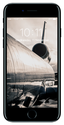 "Wallpaper Apple iPhone7 Lufthansa Cargo ""morning glow"""