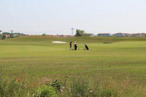 Golfer am Hufeisensee, Foto XKN
