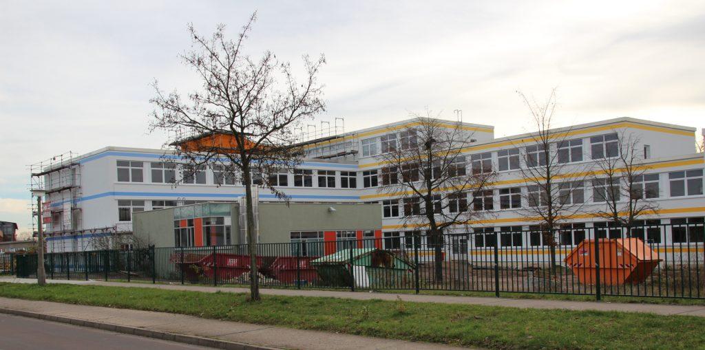 Das Landesbildungszentrum für Körperbehinderte in der Murmansker Straße