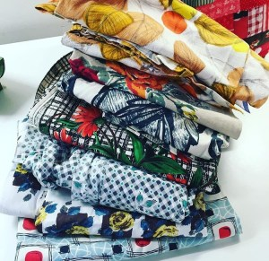 A lovely pile of fabric