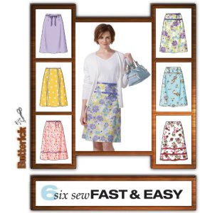 A-line skirt for beginners - a brilliant project for new sewers or nervous dressmakers.