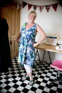sally in dress