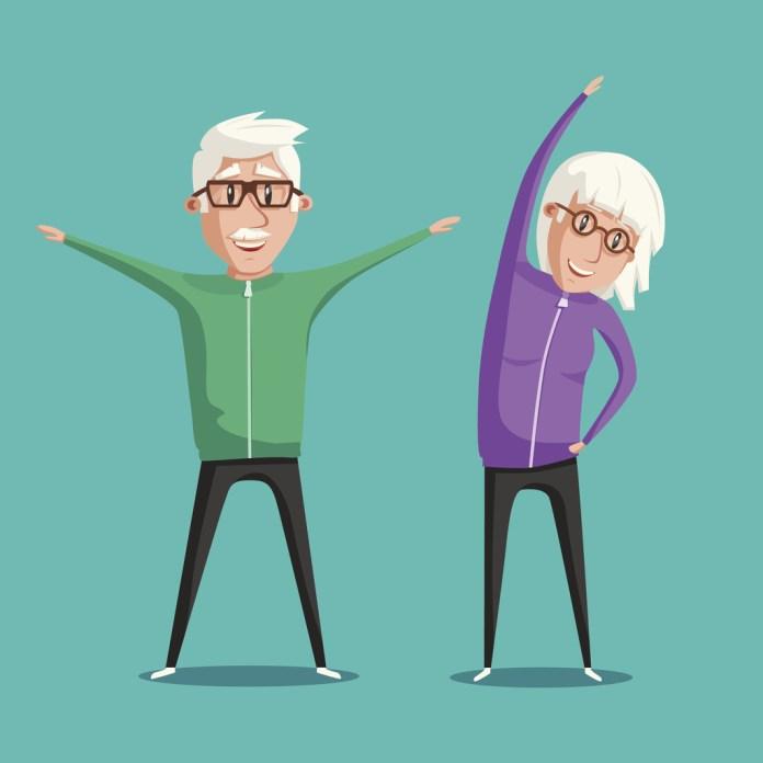 Exercícios aumentam e expectativa de vida
