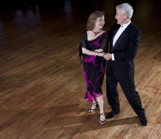 Baile da terceira idade em Brasília