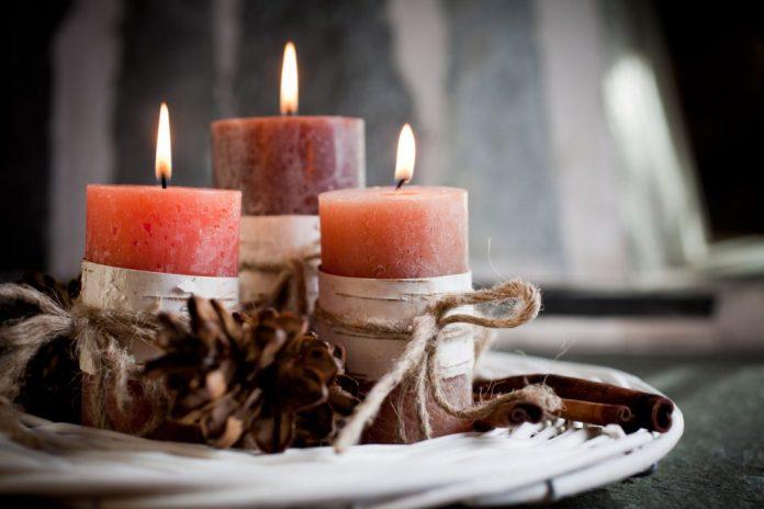 Velas Perfumadas na decoração – Como fazer