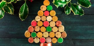 Árvore de Natal com Rolhas de Cortiça