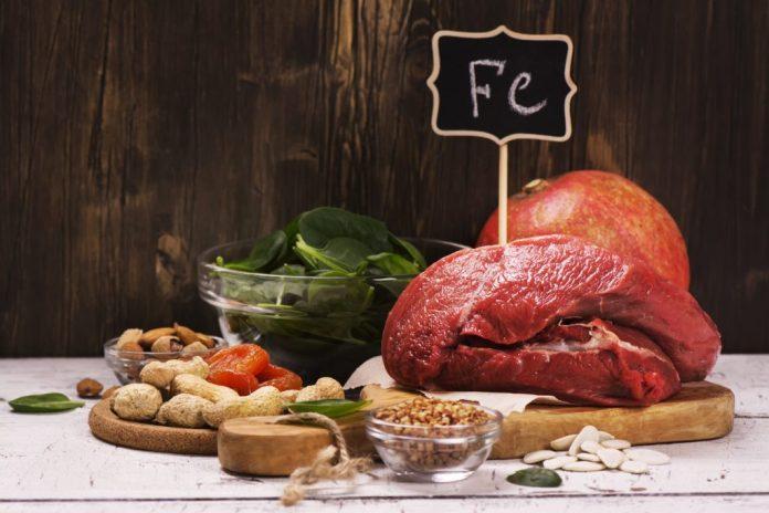 Qual a necessidade diária de Ferro - Alimentos