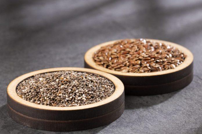 Linhaça e chia – Veja os benefícios de consumir as 2 sementes juntas