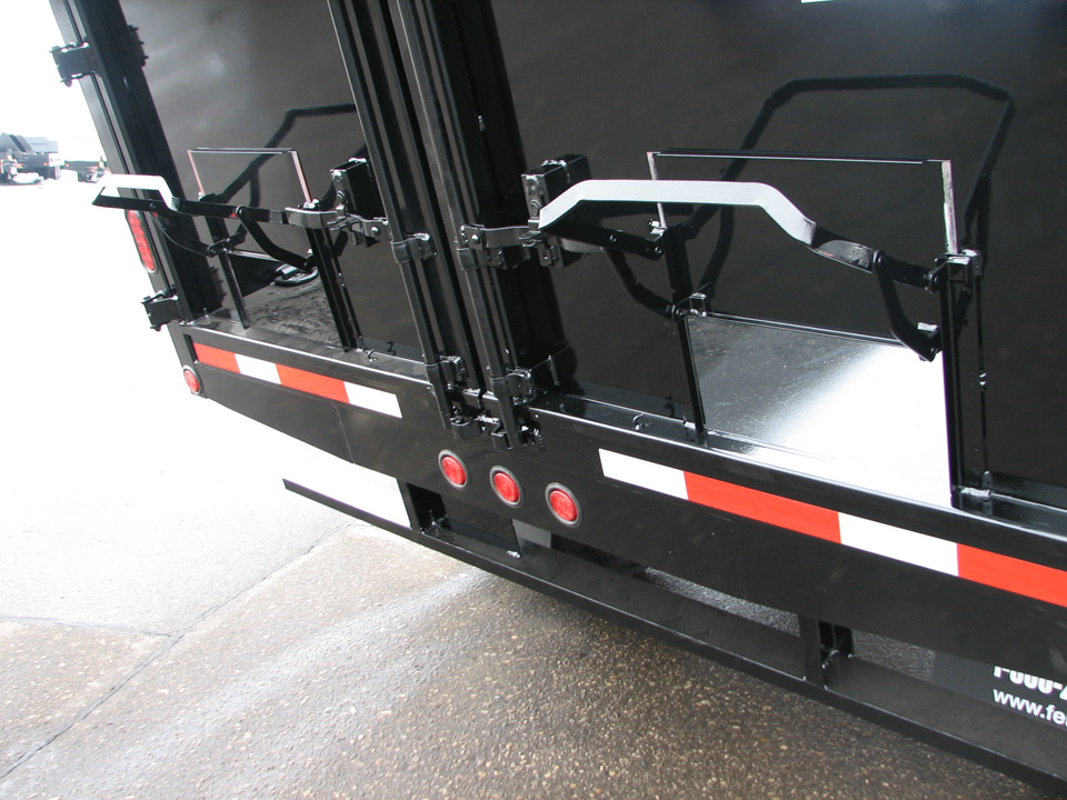Deck Over Hydraulic Dump Trailers Felling Trailers Inc