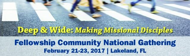 Missional Event website slider