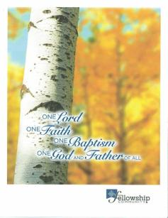 One Lord, One Faith, One Baptism, One God and Father of All