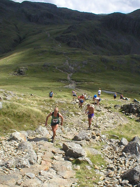 trail, fell or a bit of both? Borrowdale Fell Race