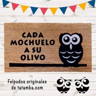 Felpudo Mochuelo