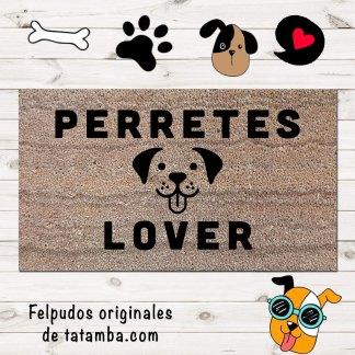 Felpudo Perretes Lover