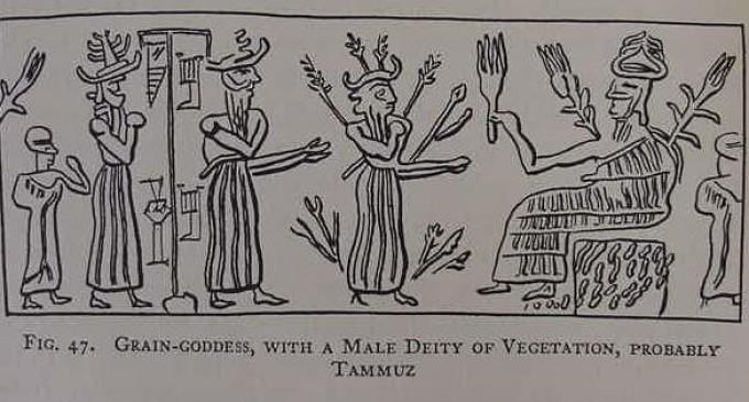 Sümer mitolojisinde Temmuz ile ilgili görsel sonucu