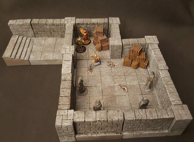 Tabletop Dungeon Tiles