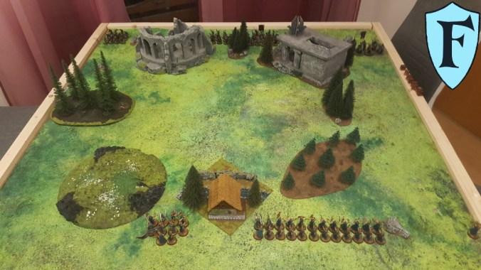 Elben und Orks haben das Schlachtfeld betreten