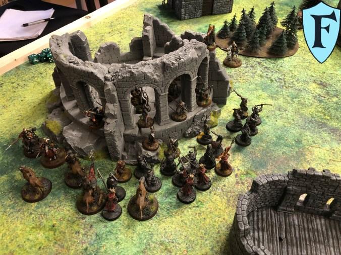 Orks haben die ruine umstellt