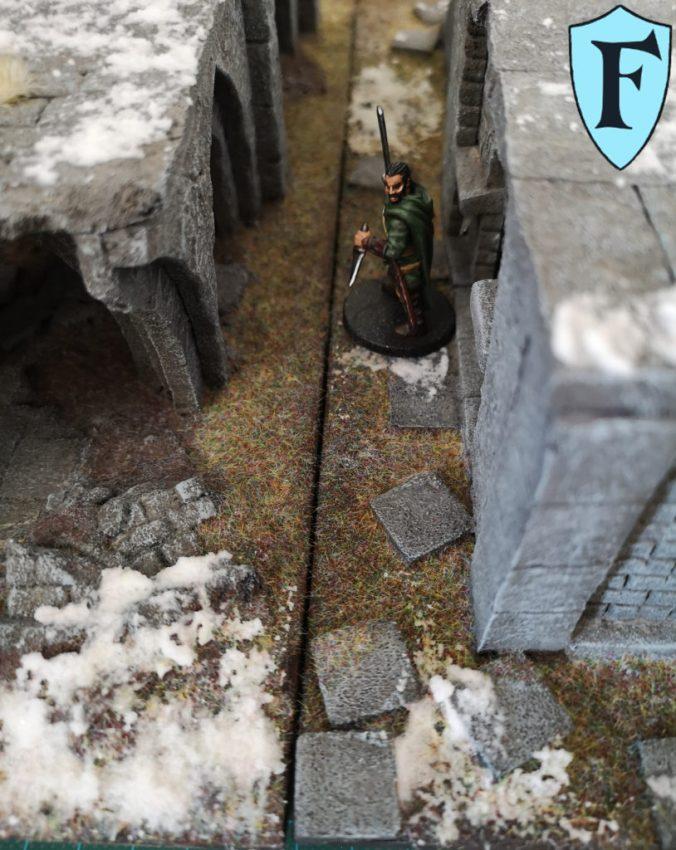 Aragorn in der Gasse