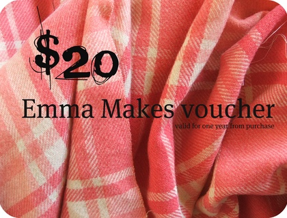 $20 Emma Makes voucher