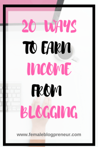 20 Ways to Earn Income from Your Blog 20 ways to earn an income from blogging 200x300