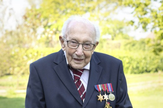 Captain Sir Tom Moore is in hospital with COVID-19 and ...