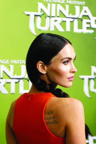 Megan Fox Inspires Back To School Braid Hairstyle