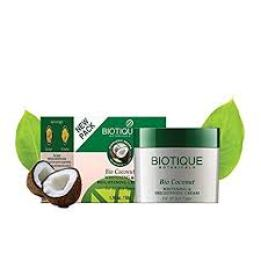 Biotique Bio Coconut Whitening And Brightening Cream- Perfect Fairness Cream for Oily Skin In India