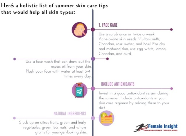 Skin Care Tips for Summer