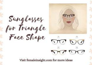 Sunglasses for Triangle Face Shape