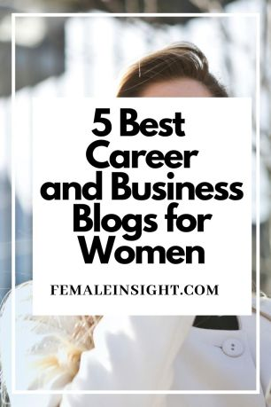 5 Best  Career and Business Blogs for Women Pin