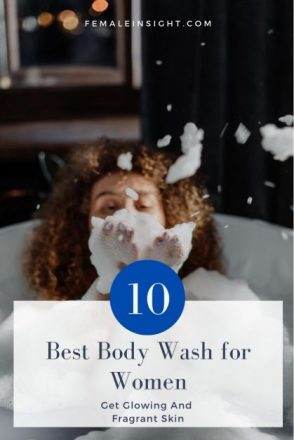 Best Body Wash for Women Pin