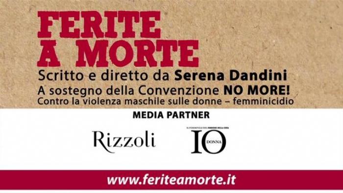 Serena Dandini: Ferite a morte va oltre le parole