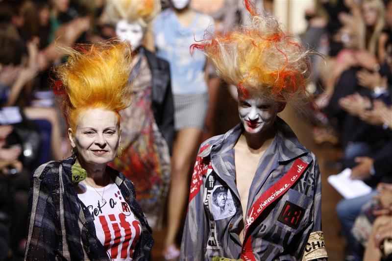 Vivienne Westwood, queen of punk