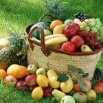 Carrello della spesa: frutta e verdura di giugno