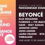 The sound of change, il live aid londinese tutto al femminile