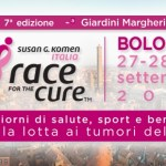 Tumori al seno: Race for the Cure a Bologna dal 27 al 29 Settembre