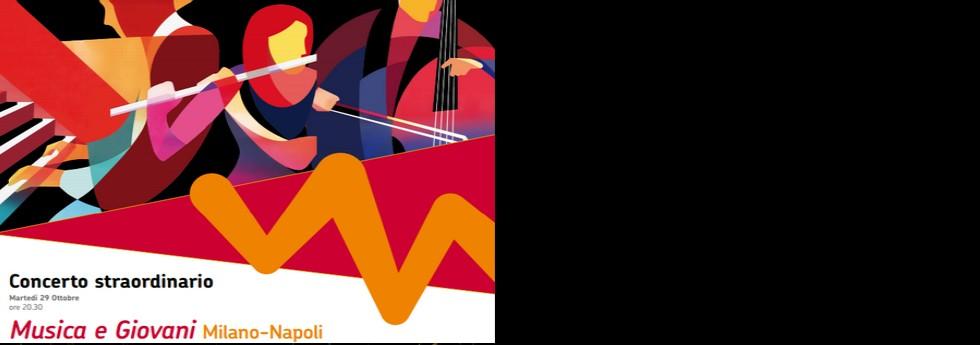 Concerto Musica e giovani. MIlano - Napoli
