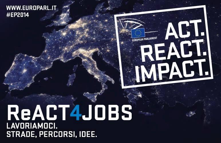 Disoccupazione giovanile: 4 Novembre, ReACT4Jobs al Teatro Argentina di Roma