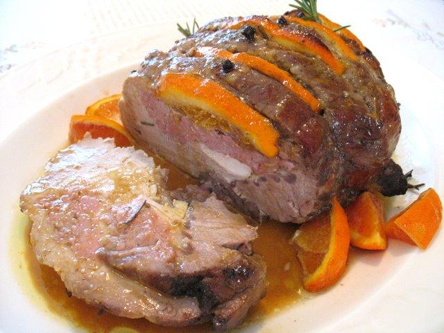 Secondi piatti di natale arrosto di maiale alle arance e for Arrosto maiale