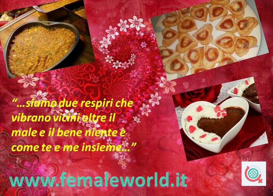 San Valentino: menu per due