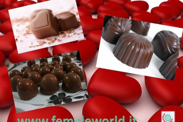San Valentino è tempo di cioccolatini