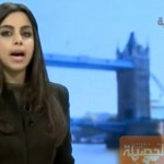 Prima giornalista senza velo nella TV araba