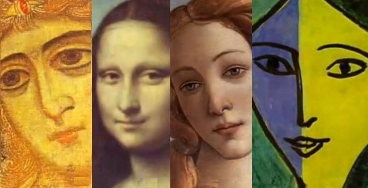 Volto di donna, 500 anni di ritratti in 3 minuti