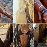 Tatuaggi metallici: la nuova moda tra le star