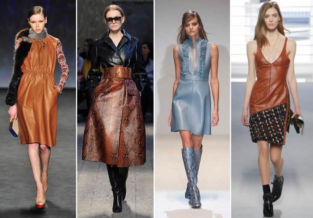 Tendenze moda Autunno Inverno 2014-2015  il ritorno della pelle ... 8ce14d6e78c