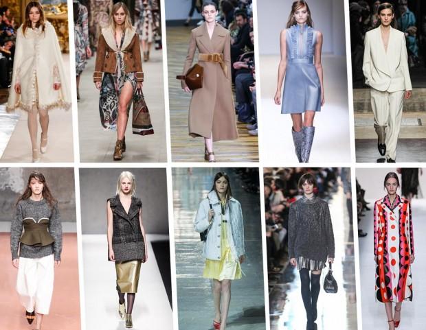 Le 10 tendenze moda dell'autunno 2014