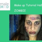 Make up Tutorial Halloween: trucco da zombie (VIDEO)