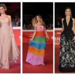 Nicoletta Romanoff: tutti i look sul red carpet del Roma Film Festival